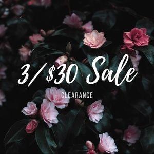 Dresses & Skirts - 3/$30 Sale! Read description for details